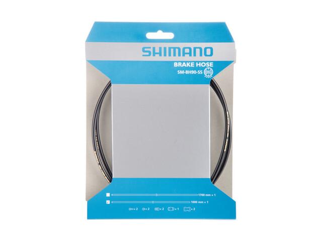Shimano SM-BH90-SS Bremsevaier Bremsekabel Svart
